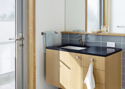 "Cypress cabinets and trim<br/><span class=""gallery-courtesy"">Courtesy Traction Architecture</span>"