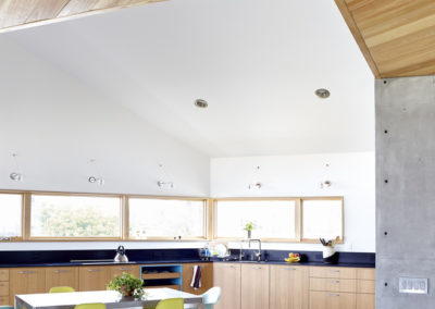 "Cypress ceilings and cabinets<br/><span class=""gallery-courtesy"">Courtesy Traction Architecture</span>"