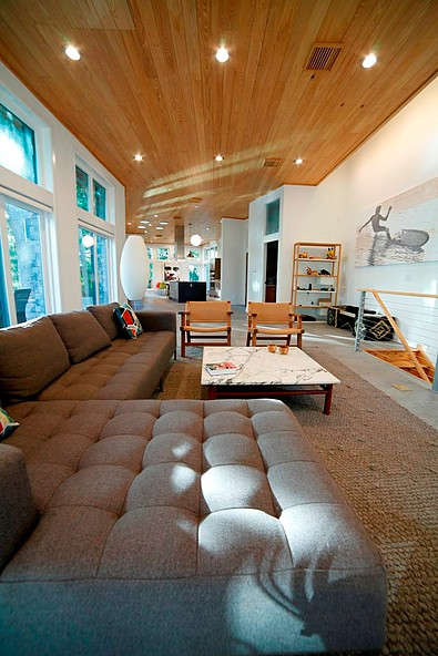 "Cypress living room ceiling<br/><span class=""gallery-courtesy"">Courtesy NextGen Home TV</span>"