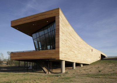 "Cypress siding on Trinity River Audobon Center.<br/> <span class=""gallery-courtesy"">Courtesy Michael Lyon Photography</span>"