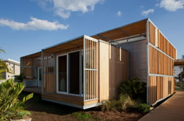 Cypress Complements Efficient Homes at the 2011 Solar Decathlon