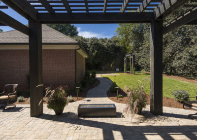 "Cypress pergola by Vicki Payne<br/><span class=""gallery-courtesy"">Courtesy ""For Your Home""</span>"
