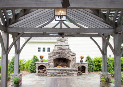 "Cypress Pergola <br/><span class=""gallery-courtesy"">James Bost, Photographer; @My Outdoor Rooms LLC</span>"