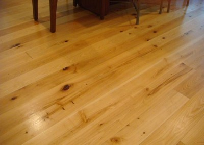 Cypress flooring. Courtesy Custom Lumber Manufacturing Company
