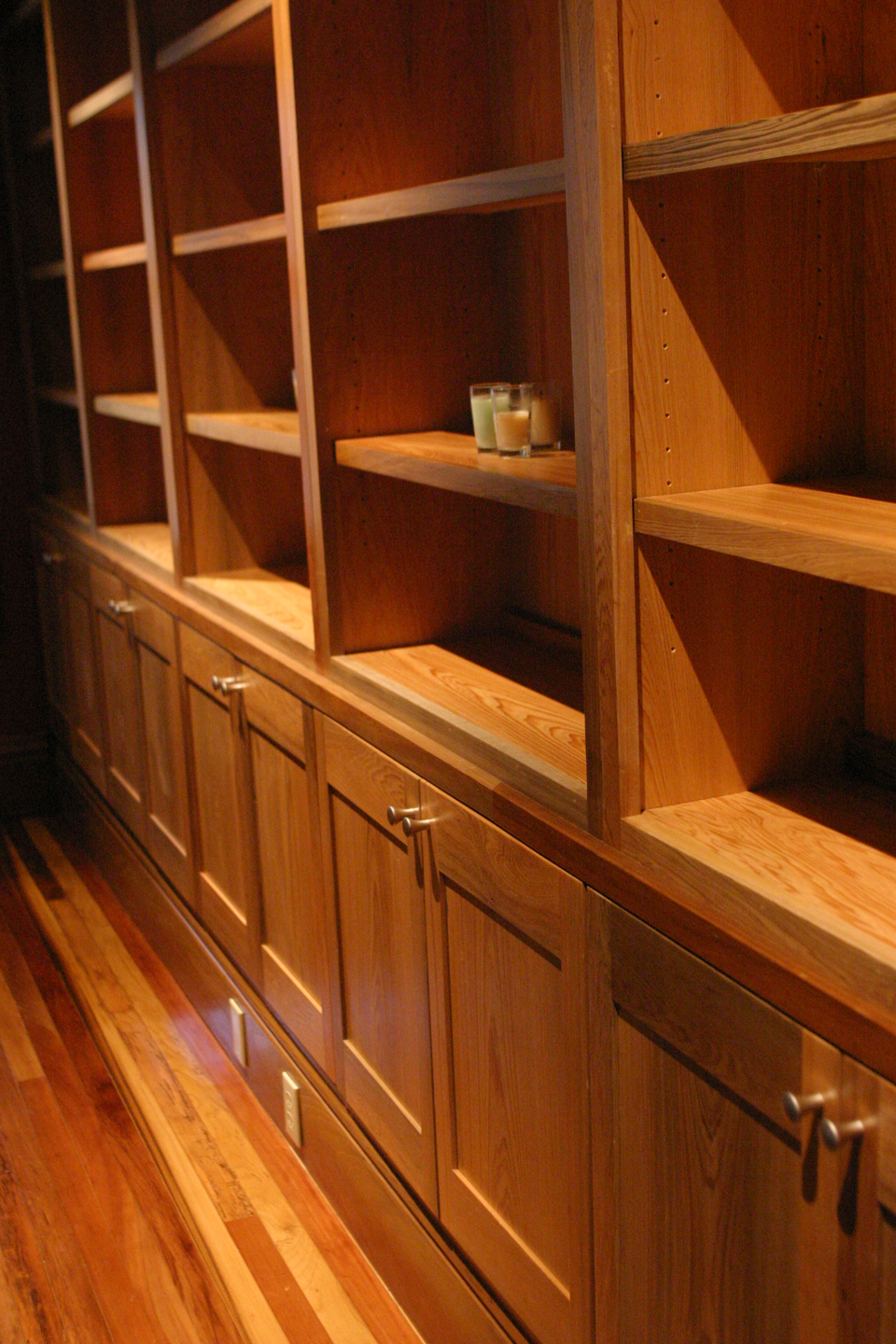 Cypress Cabinetry. Courtesy Acadian Cypress And Hardwoods