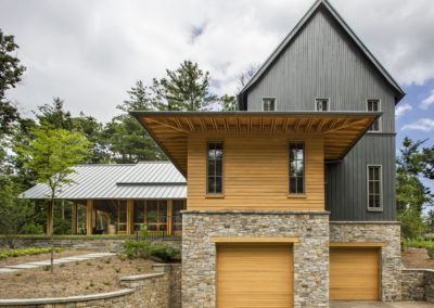 "Cypress siding and garage door<br/> <span class=""gallery-courtesy"">Courtesy David Dietrich</span>"