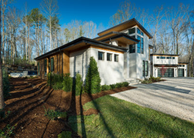 "Cypress siding, soffit, and ceiling <br/> <span class=""gallery-courtesy"">Courtesy Vicki Payne, For Your Home</span>"
